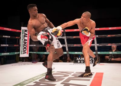 Christiano Ndombassy vs George Mdluli